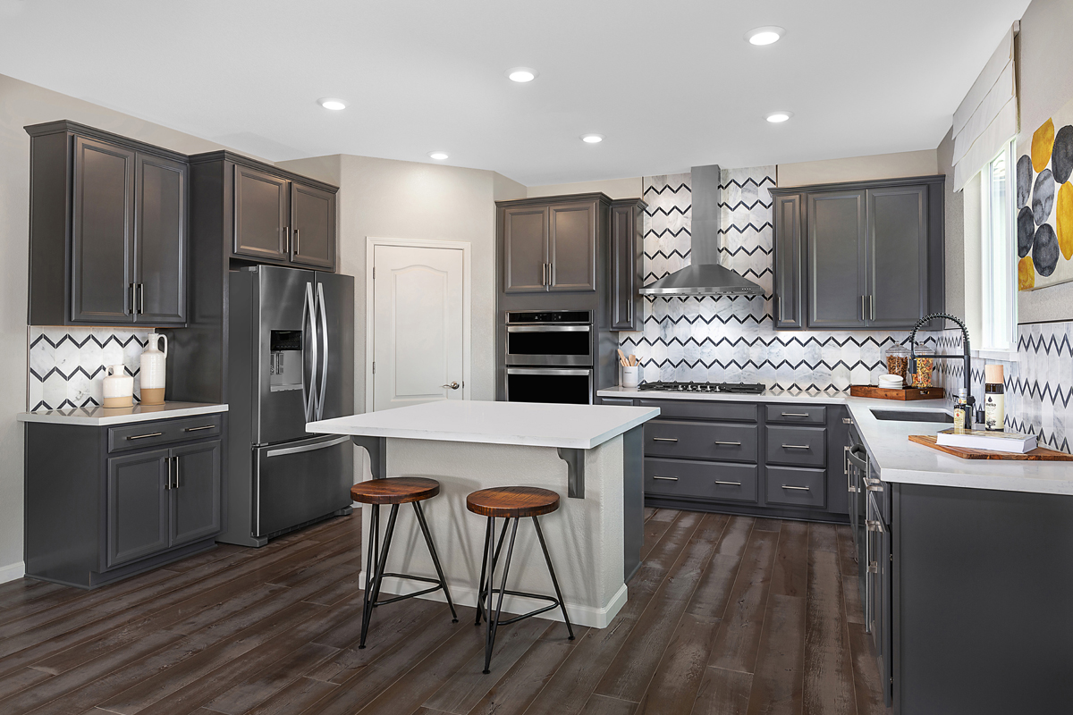 New Homes in Rocklin, CA - Oak Vista Plan 2376 Kitchen