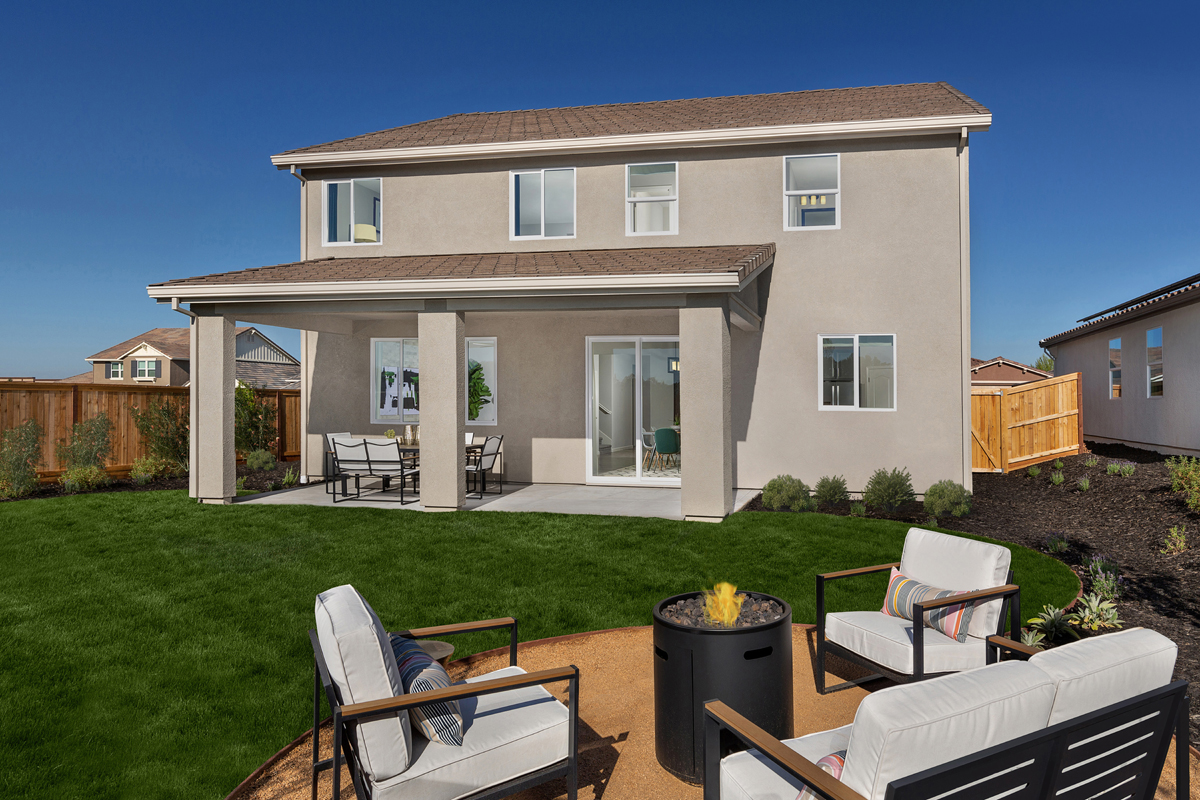 New Homes in Rocklin, CA - Oak Vista Plan 2376 Patio