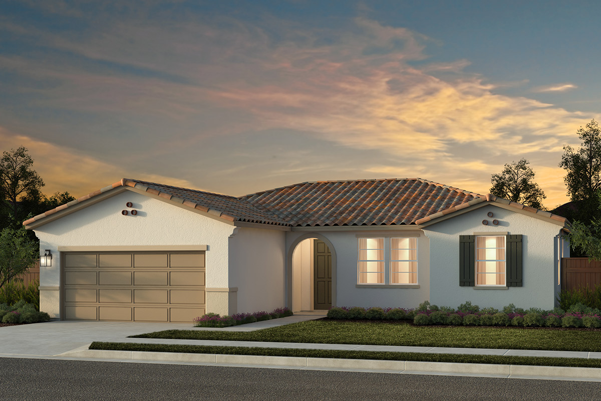 New Homes in Rocklin, CA - Plan 1600 - Spanish Elevation