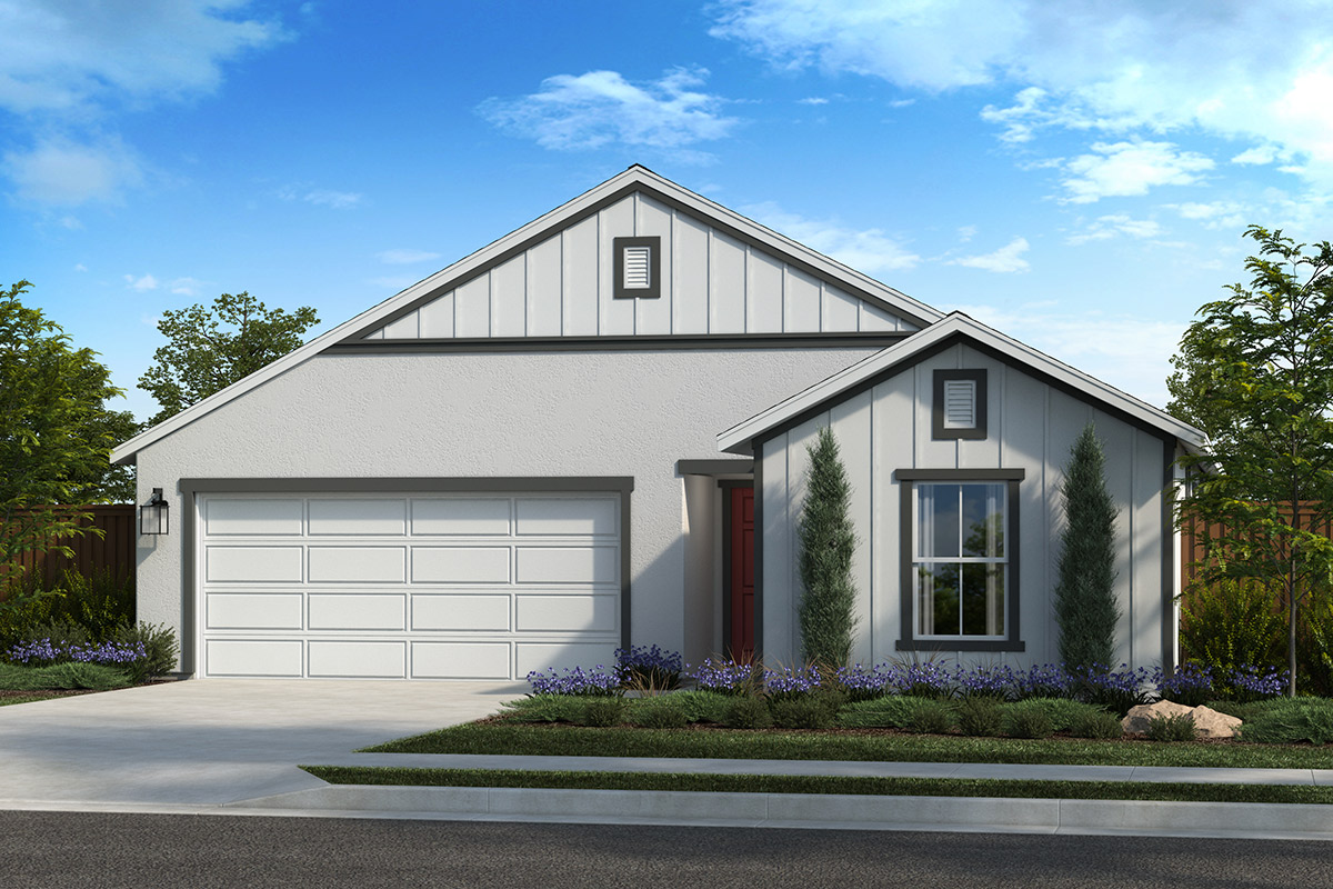 New Homes in Citrus Heights, CA - Oaks at Mitchell Village Plan 1432 Elevation F