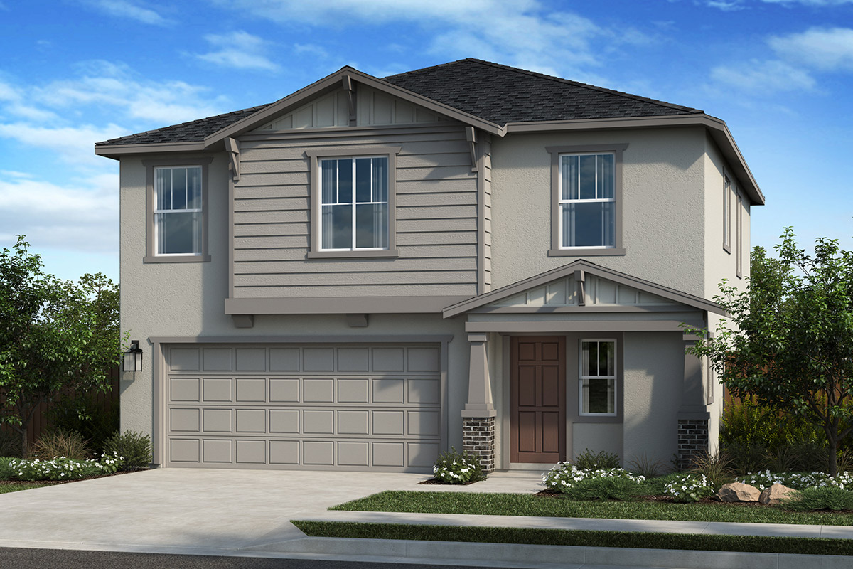 New Homes in Citrus Heights, CA - Oaks at Mitchell Village Plan 1784 Elevation B