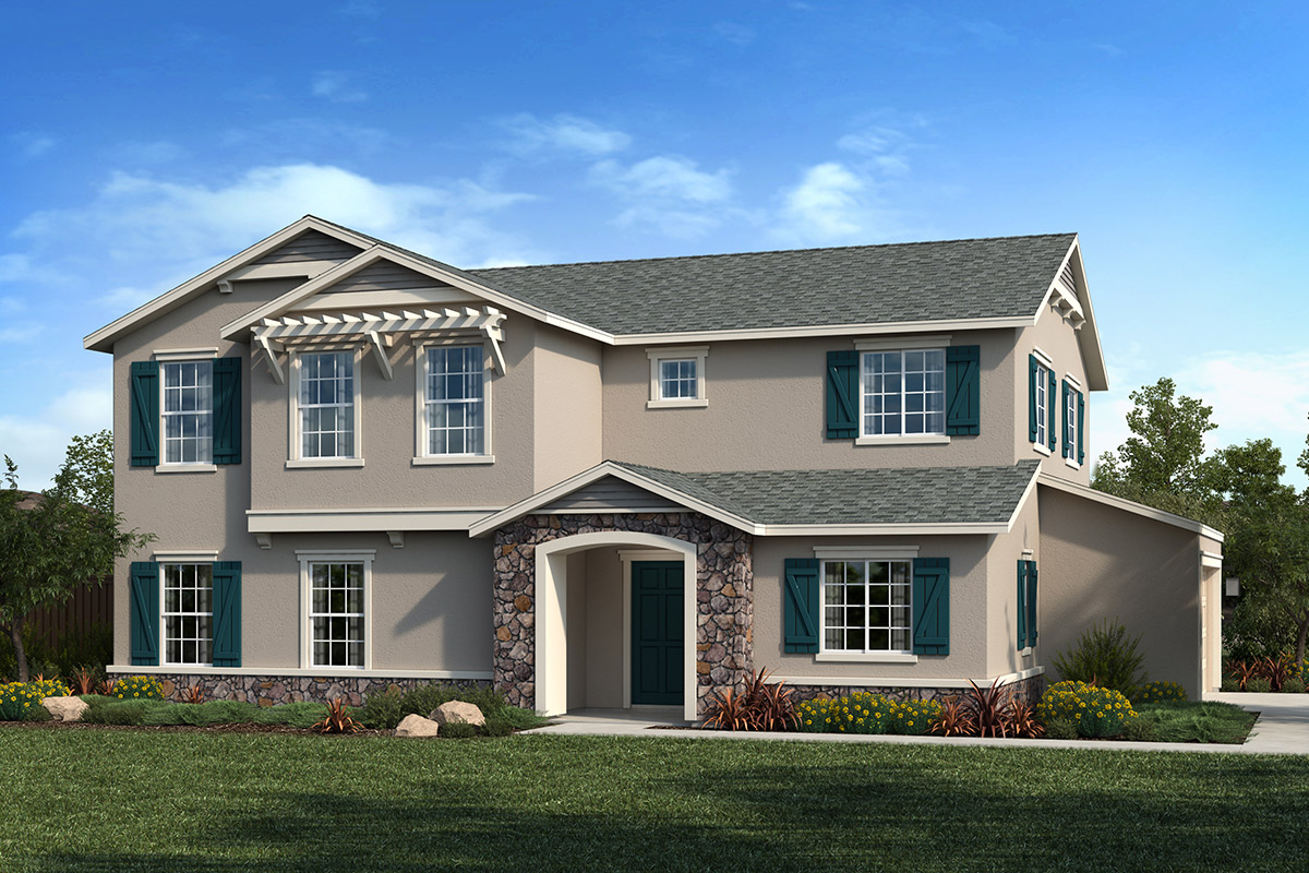 New Homes in Citrus Heights, CA - Oaks at Mitchell Village Plan 2233 Elevation D