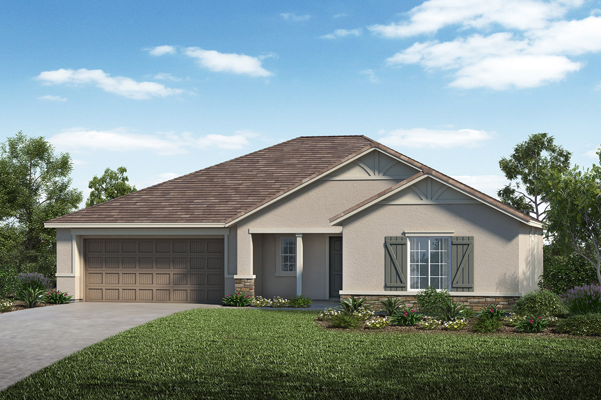 New Homes in Lathrop, CA - Elevation D