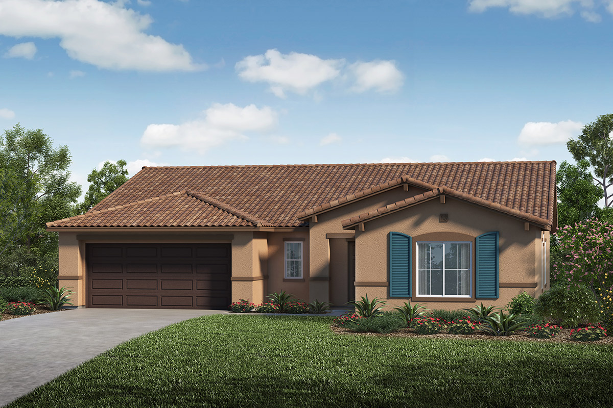 New Homes in Lathrop, CA - Elevation E