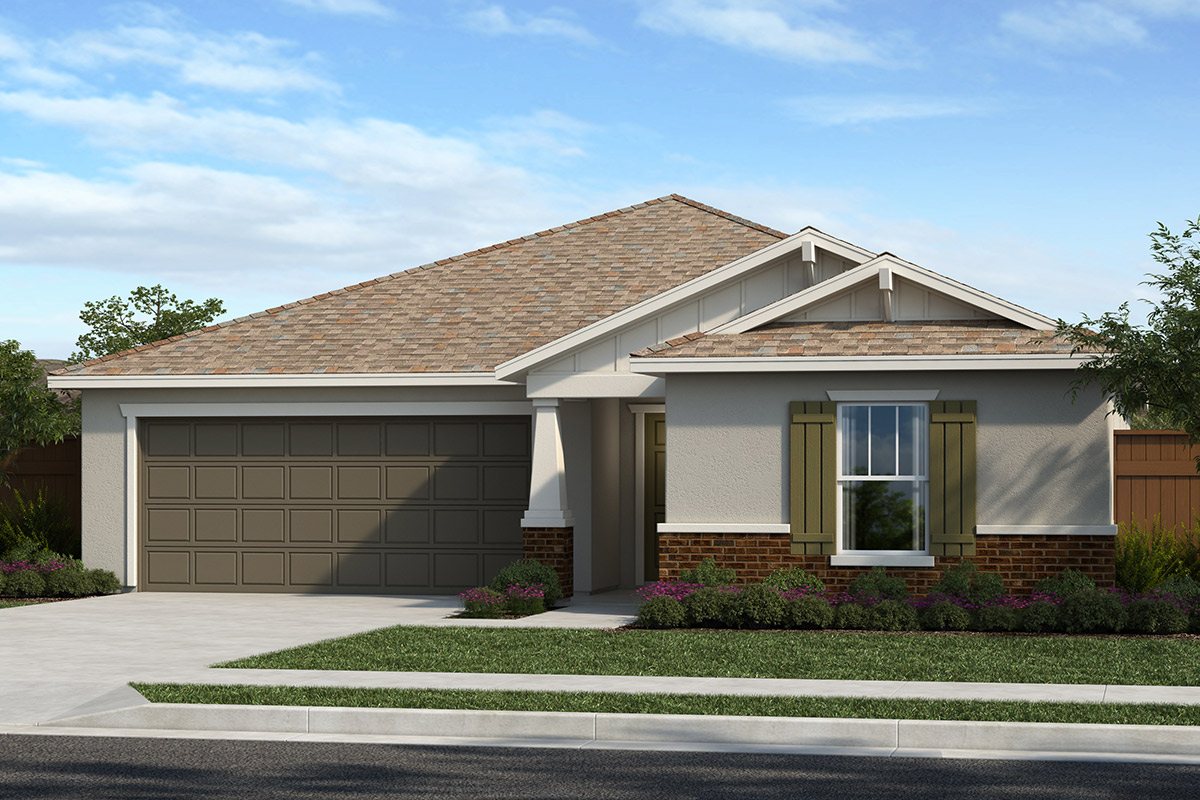 New Homes in Stockton, CA - Elevation B