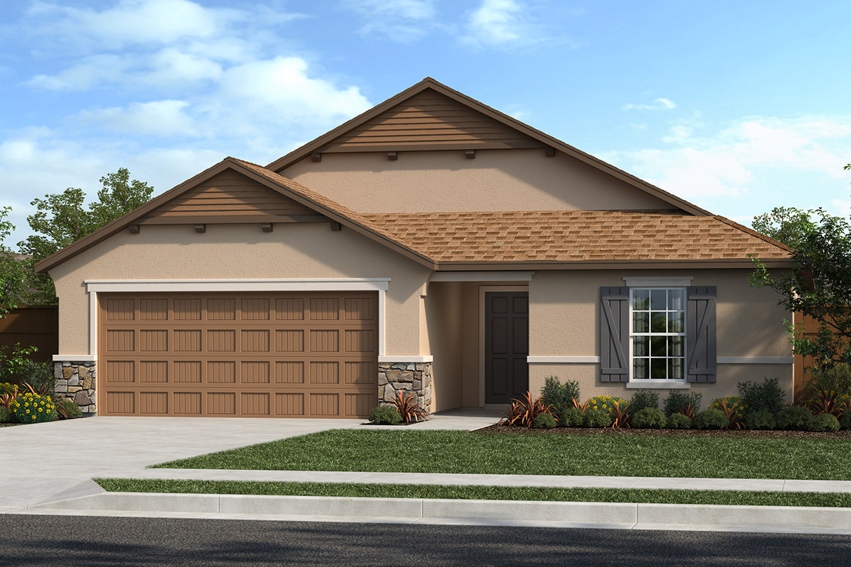 New Homes in Stockton, CA - Elevation D