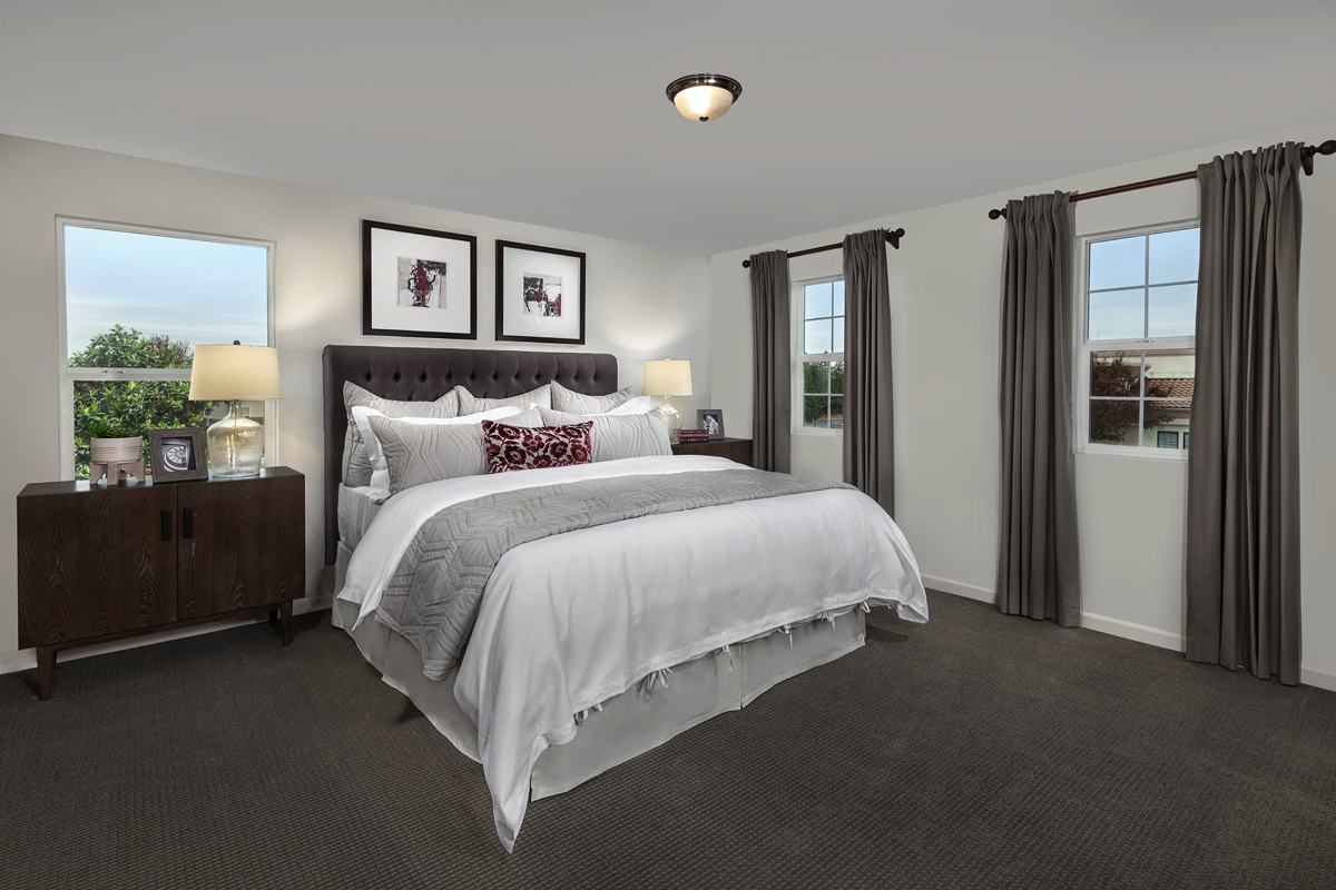 New Homes in Elk Grove, CA - Sheldon Terrace Plan 1691 Master Bedroom
