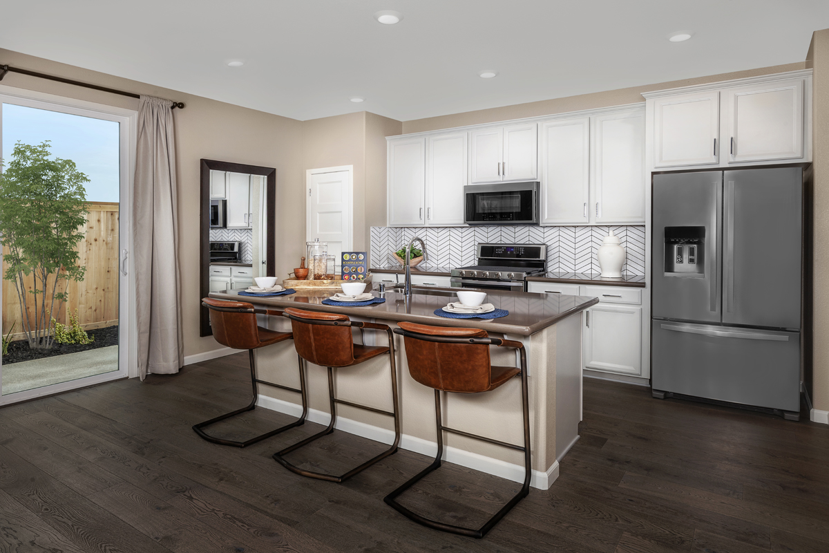 New Homes in Elk Grove, CA - Sheldon Terrace Plan 1787 Kitchen
