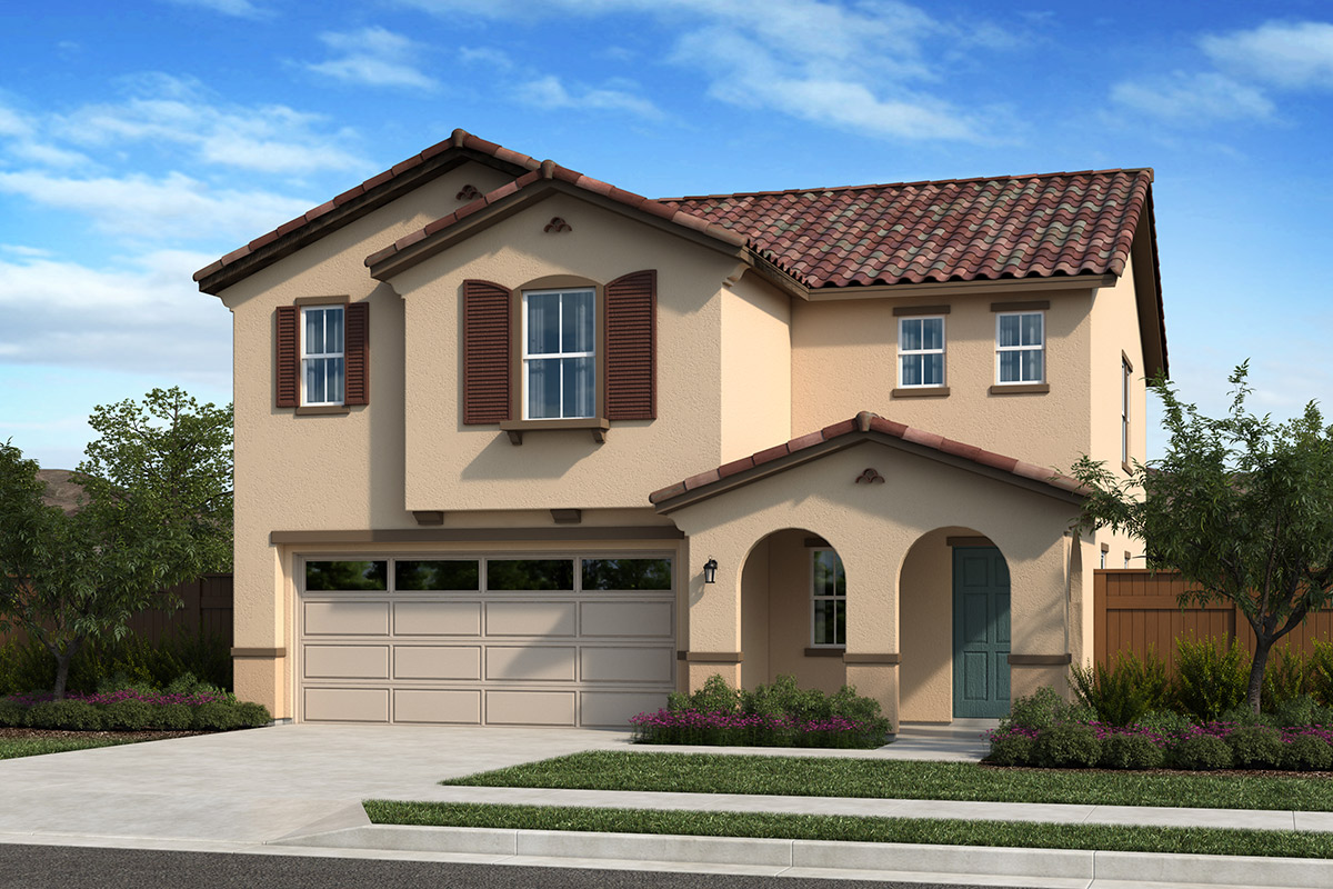 New Homes in Folsom, CA - Elevation A