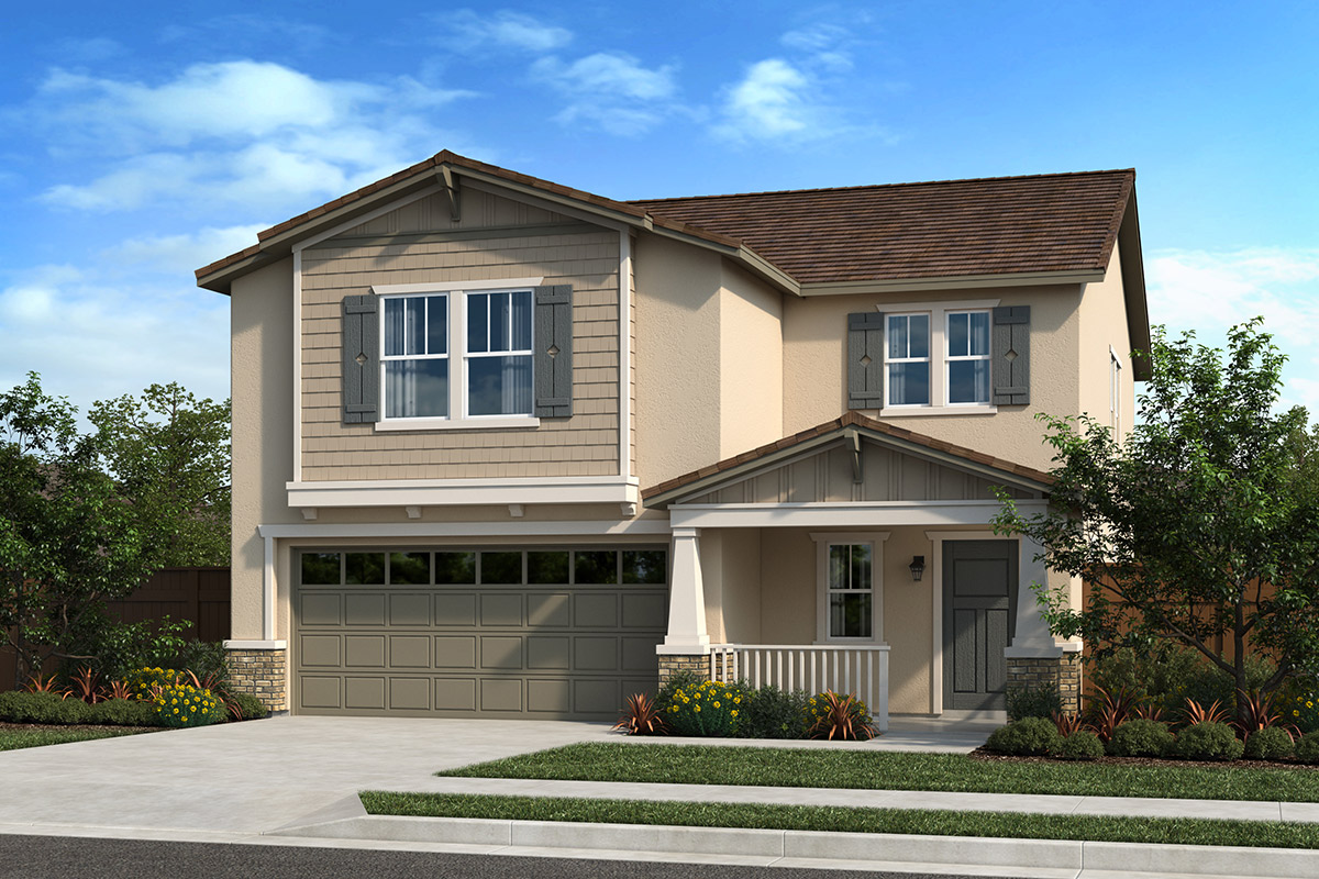 New Homes in Folsom, CA - Elevation B