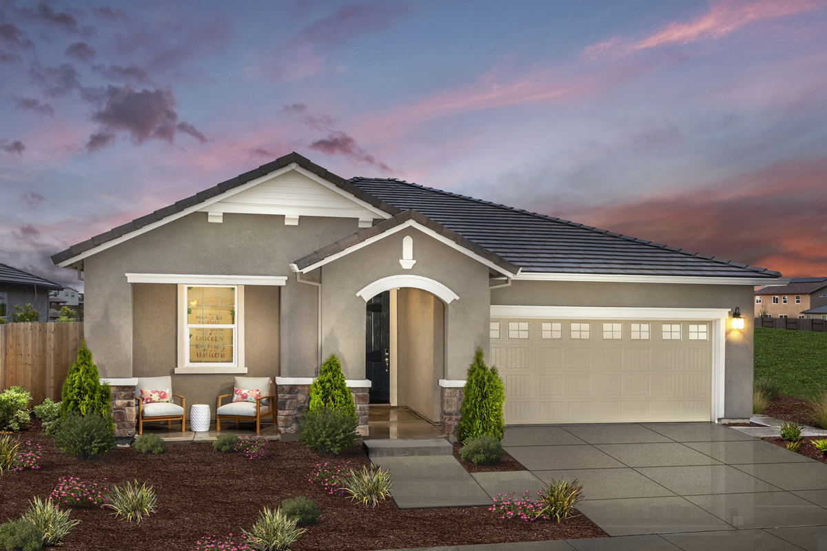 New Homes in Manteca, CA - Plan 1718 Modeled