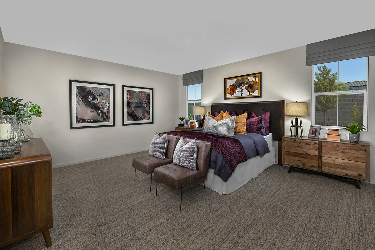 New Homes in Lincoln, CA - Ventana Plan 2188 Master Bedroom