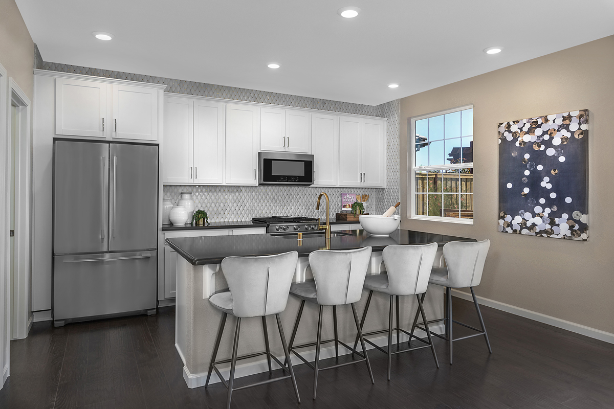 New Homes in Lincoln, CA - Ventana Plan 2674 Kitchen
