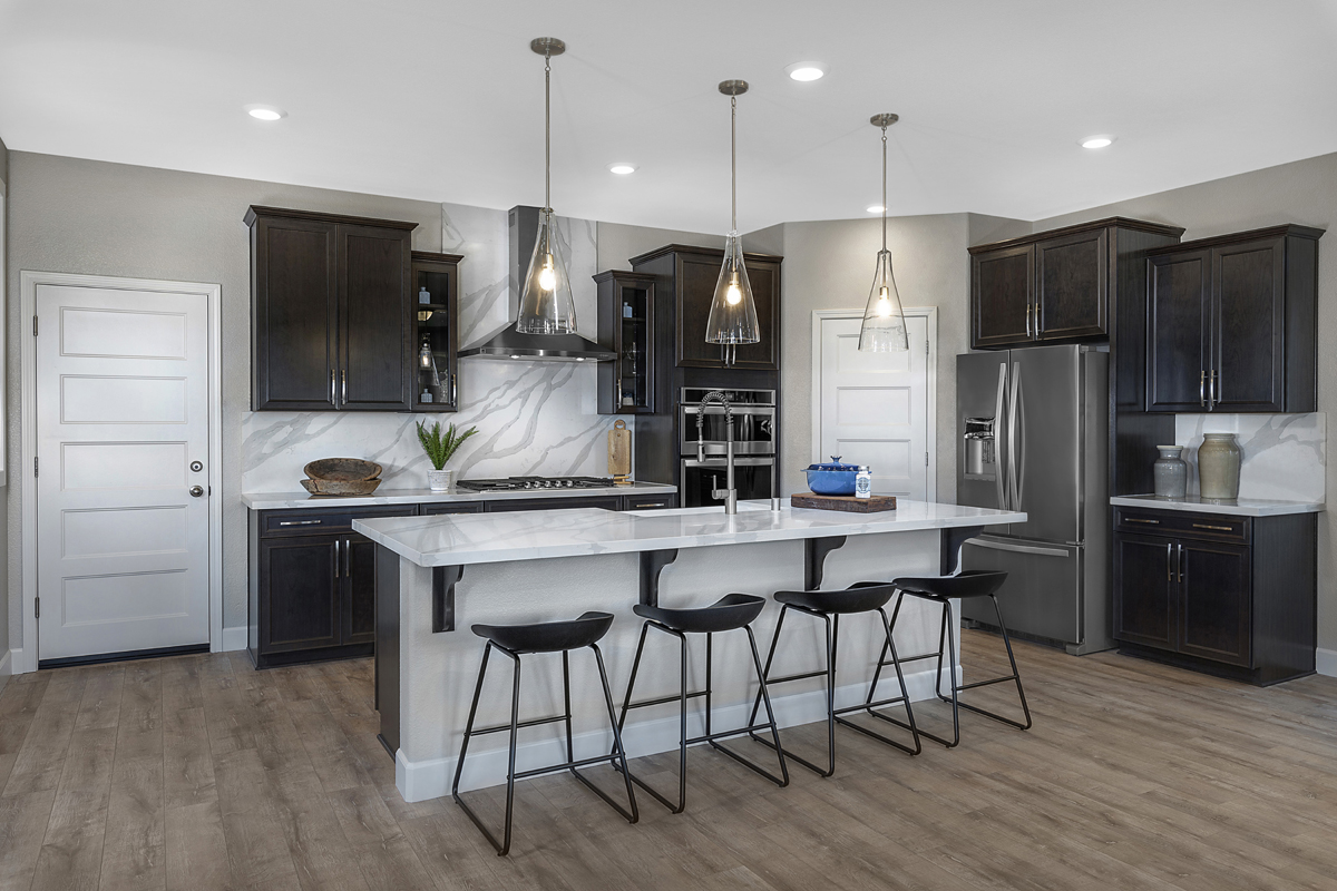 New Homes in Lincoln, CA - Ventana Plan 3061 Kitchen
