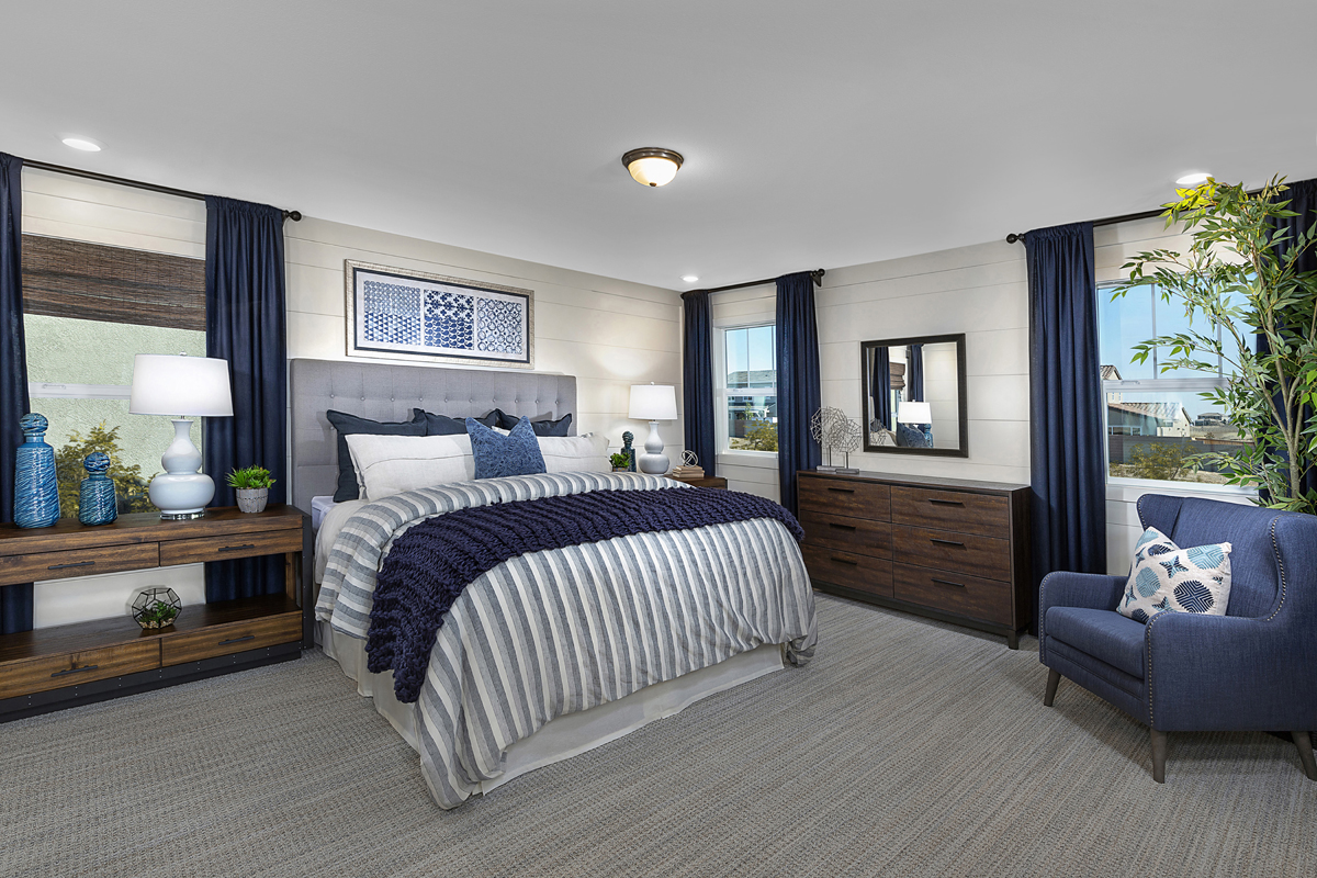New Homes in Lincoln, CA - Ventana Plan 3061 Master Bedroom