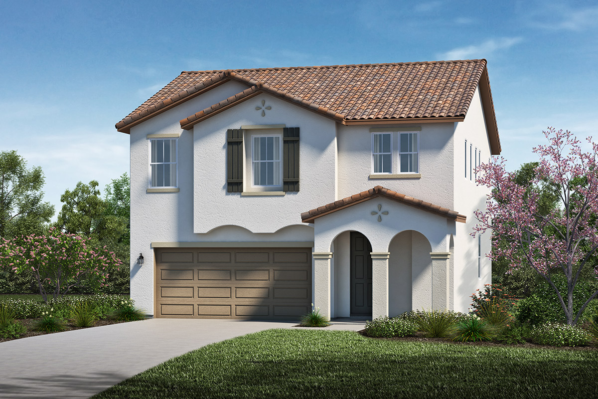 New Homes in Stockton, CA - Elevation A