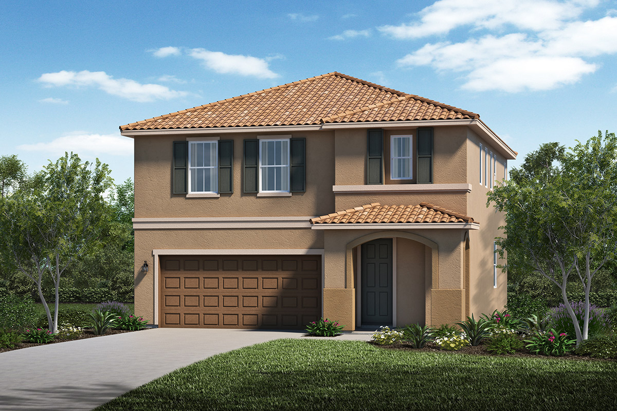 New Homes in Stockton, CA - Elevation C