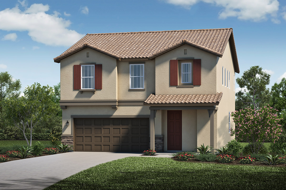 New Homes in Stockton, CA - Elevation E