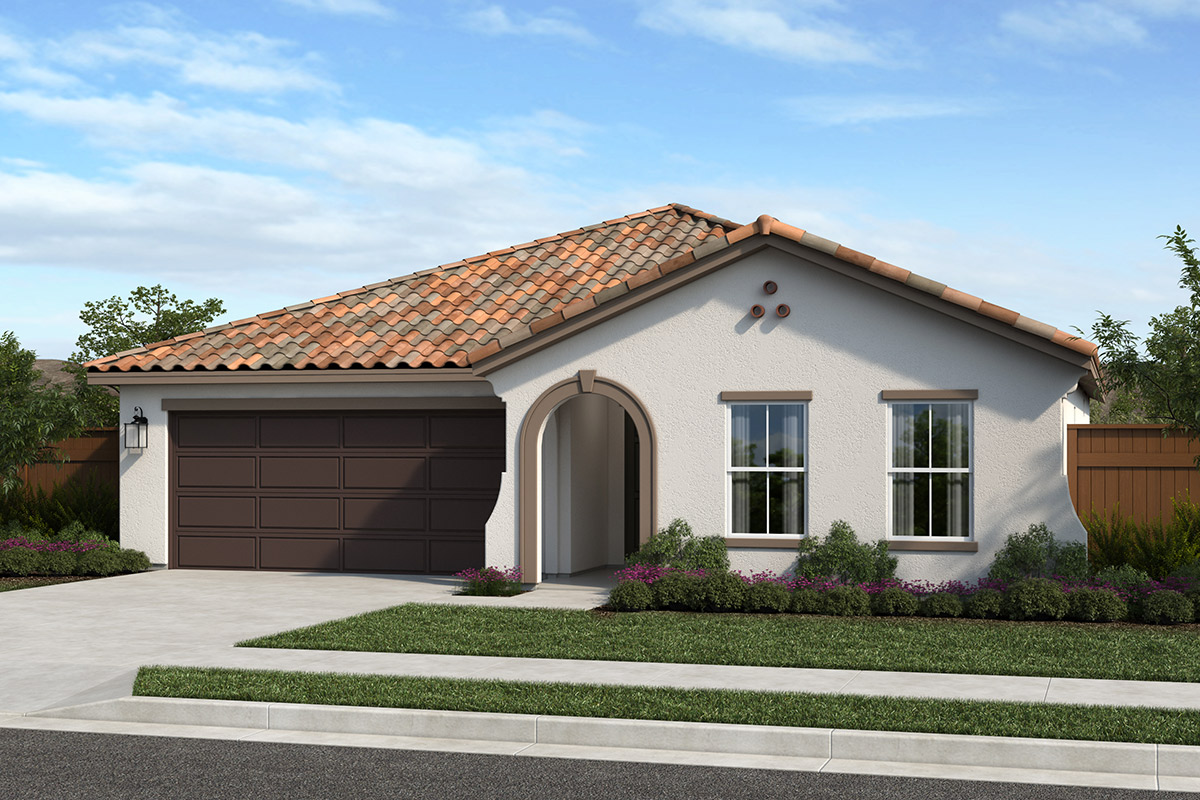 New Homes in Sacramento, CA - Vintage Park Plan 1751 Elevation A