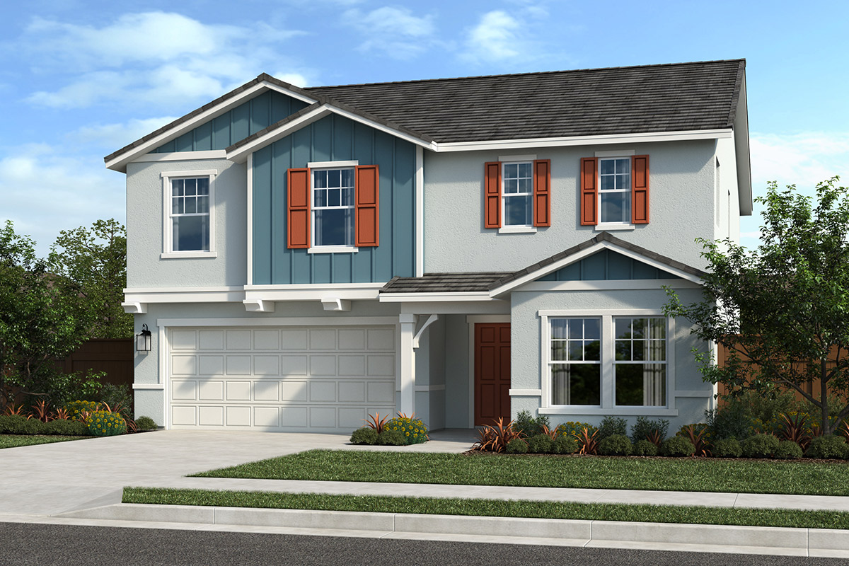 New Homes in Sacramento, CA - Elevation B