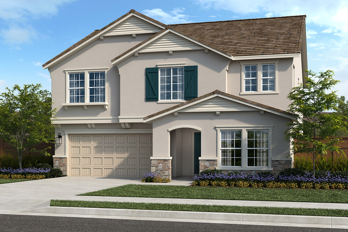 New Homes in Sacramento, CA - Elevation D