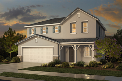 New Homes in Sacramento, CA - French Elevation D
