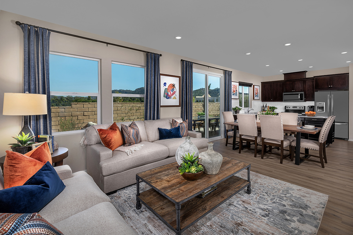 New Homes in Valley Center, CA - Bear Peak Residence 1795 Great Room