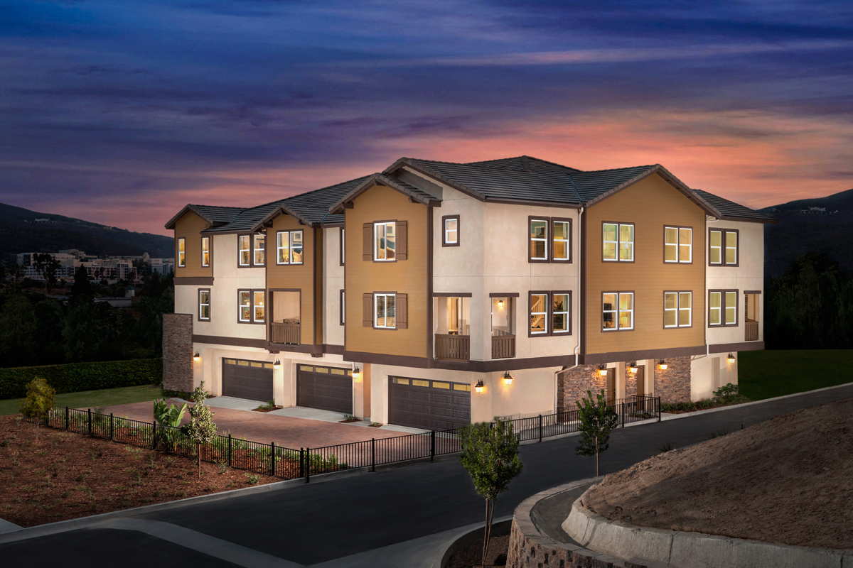 New Homes in San Marcos, CA - Mission Villas Plan 1698