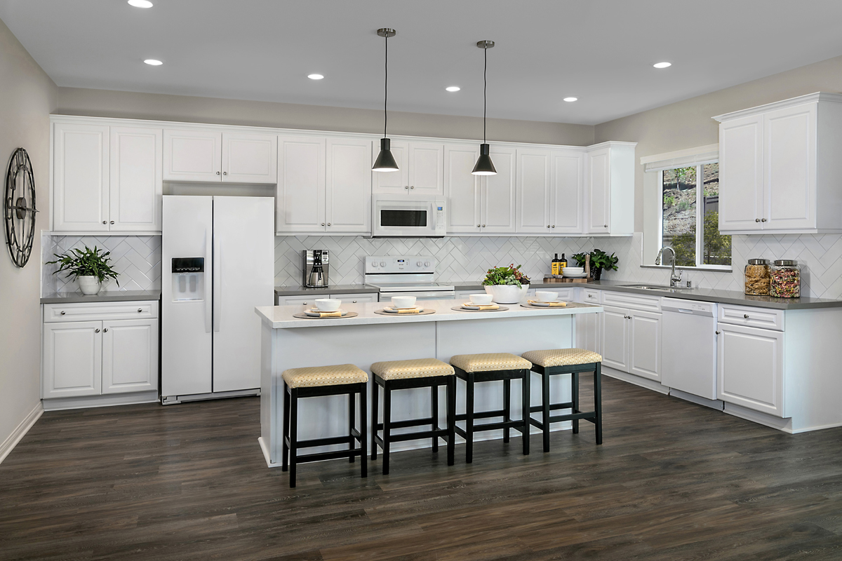 New Homes in Escondido, CA - Oak Creek Residence Two - Kitchen
