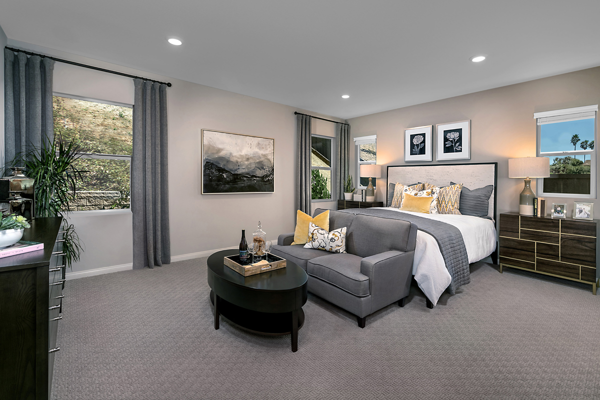 New Homes in Escondido, CA - Oak Creek Residence Two Master Bedroom