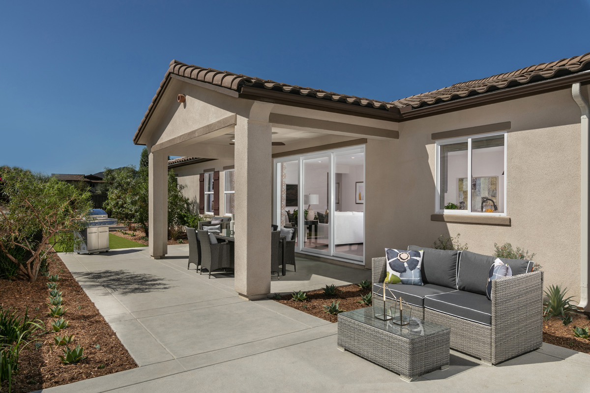 New Homes in Escondido, CA - Oak Creek Residence Two - Patio