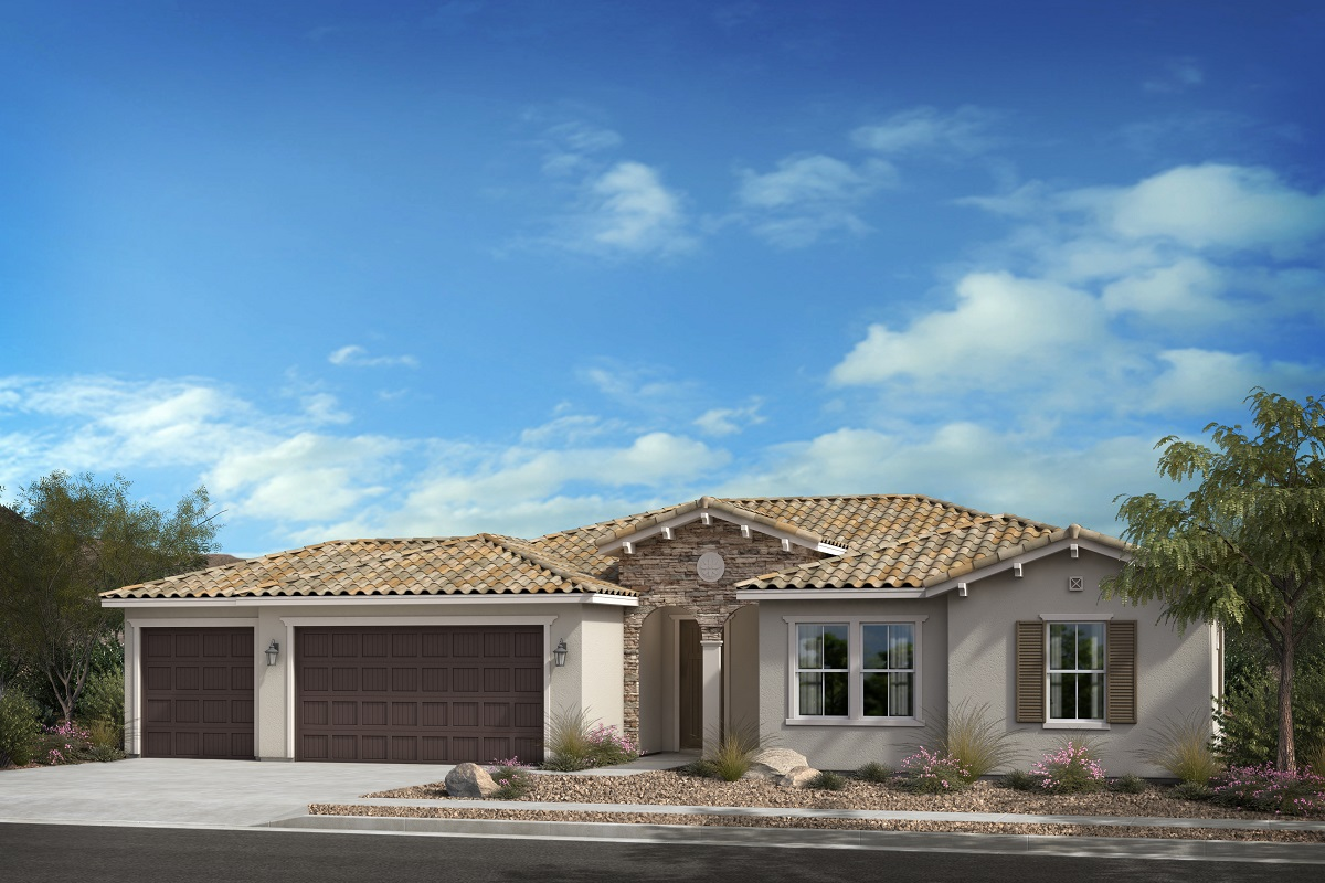 New Homes in Escondido, CA - Oak Creek Residence One - 'C' Elevation