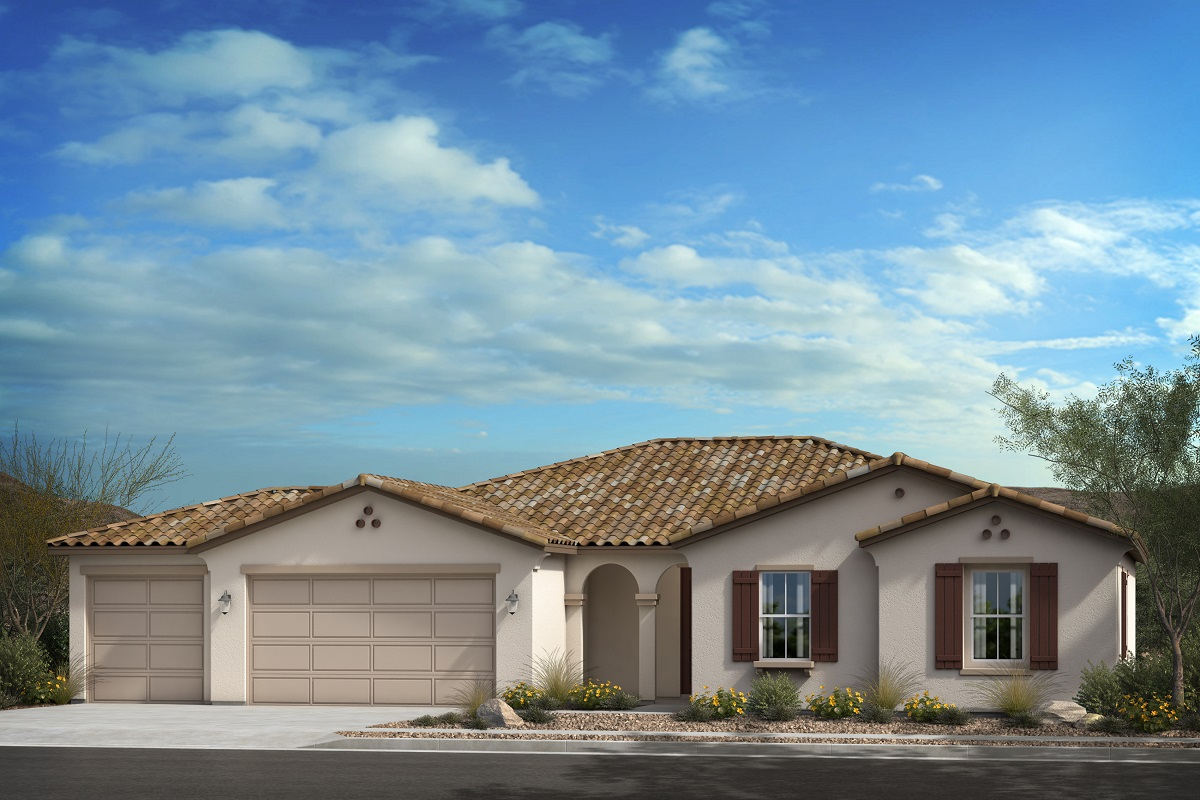 New Homes in Escondido, CA - Elevation A