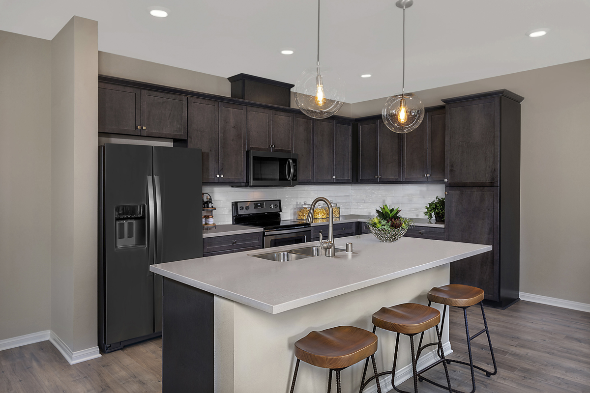 New Homes in Vista, CA - Sierra Residence Two Kitchen