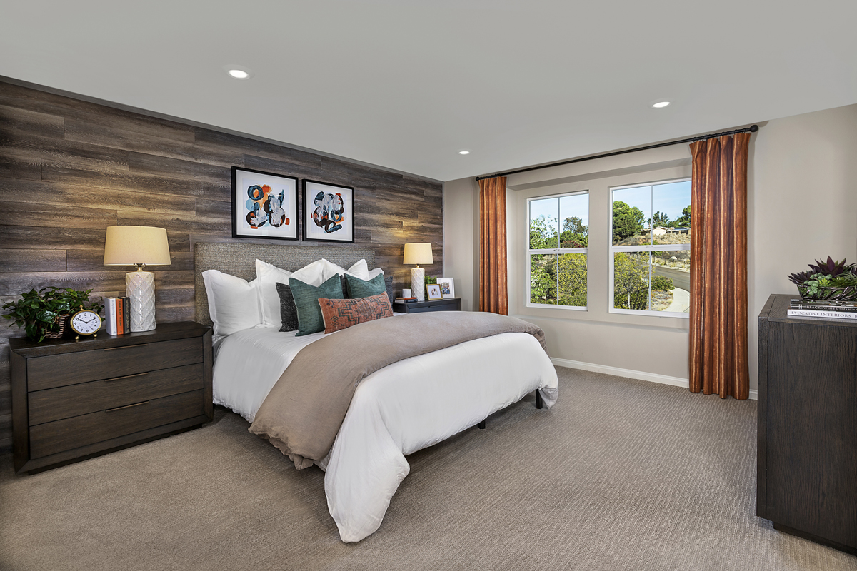 New Homes in Vista, CA - Sierra Residence Two Master Bedroom