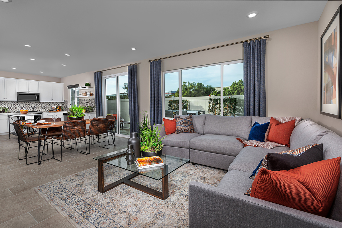 New Homes in Spring Valley, CA - Sweetwater Place Residence Two Great Room