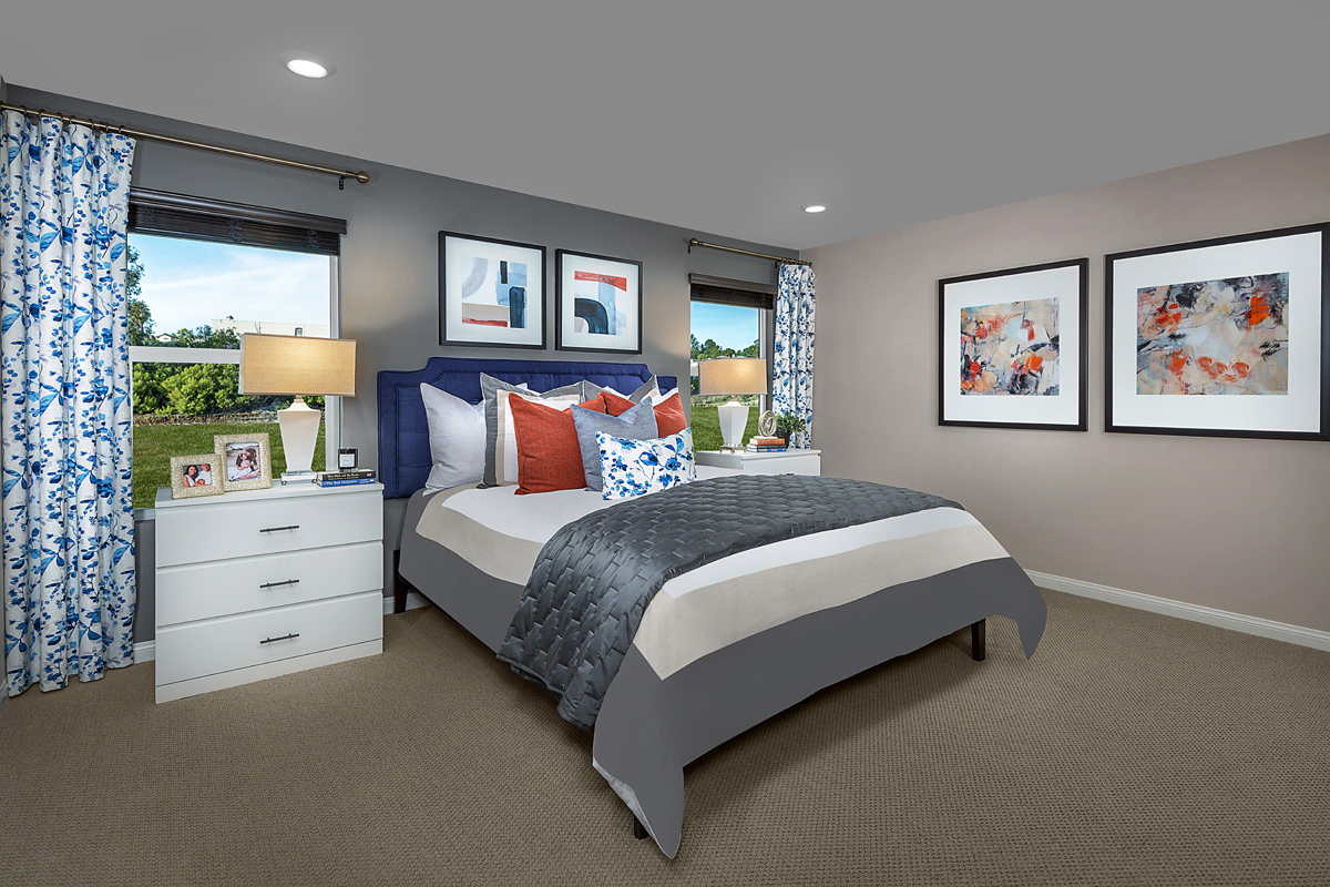 New Homes in Spring Valley, CA - Sweetwater Place Residence Two Master Bedroom