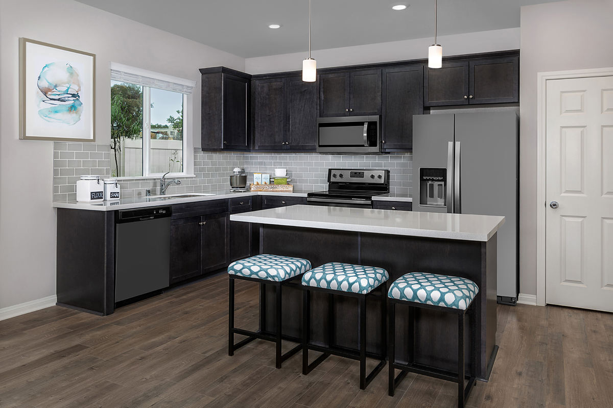 New Homes in Spring Valley, CA - Sweetwater Place Residence Three Kitchen