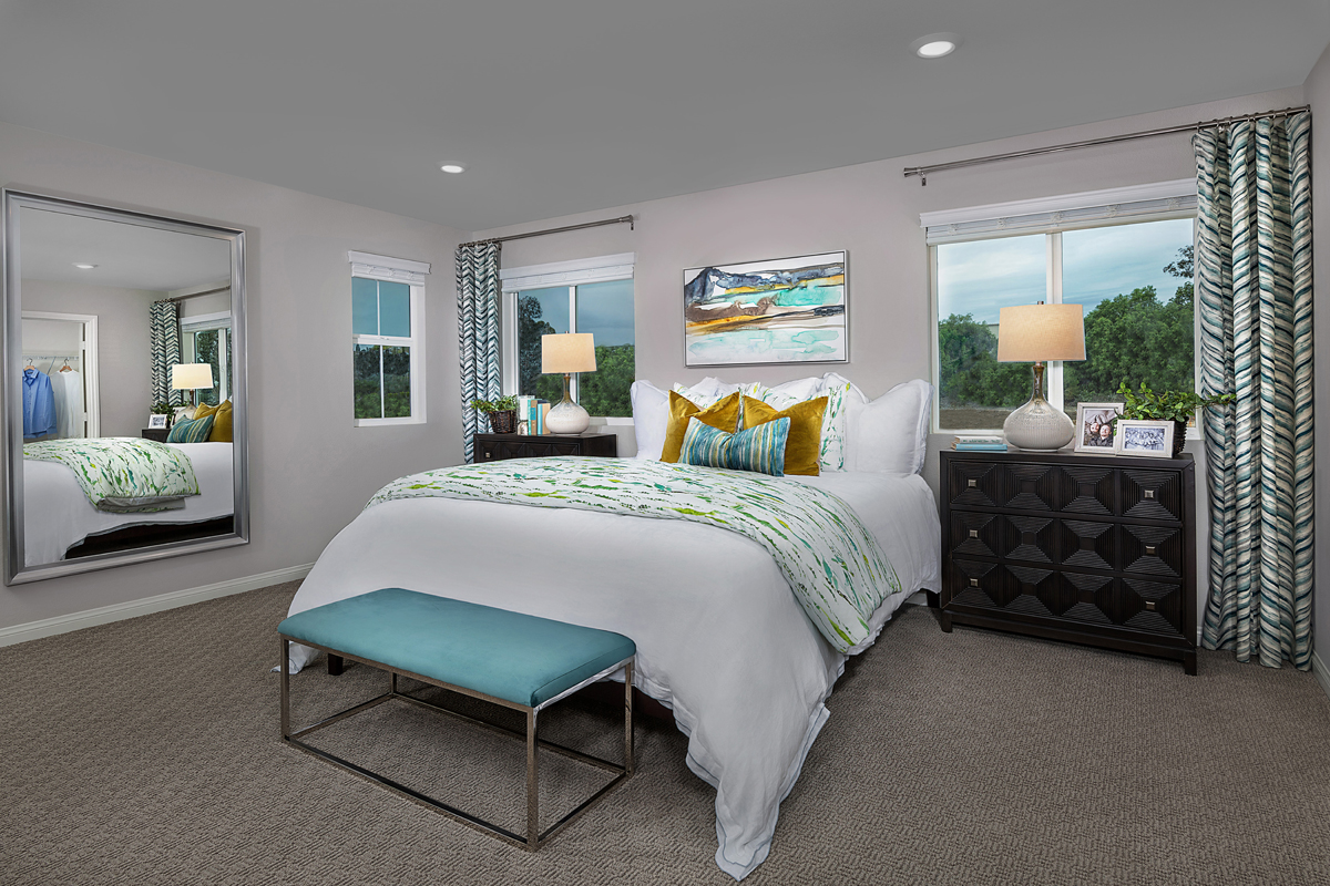 New Homes in Spring Valley, CA - Sweetwater Place Residence Three Master Bedroom