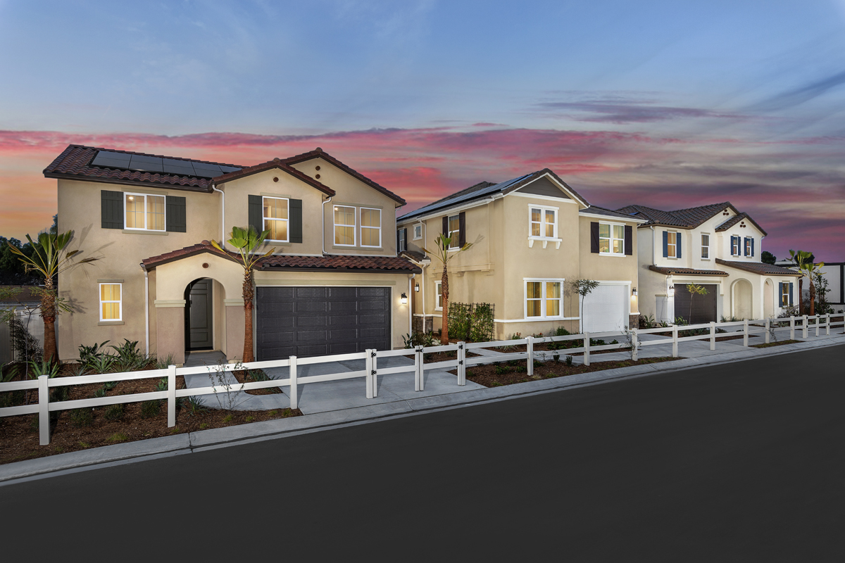 New Homes in Spring Valley, CA - Sweetwater Place Streetscape