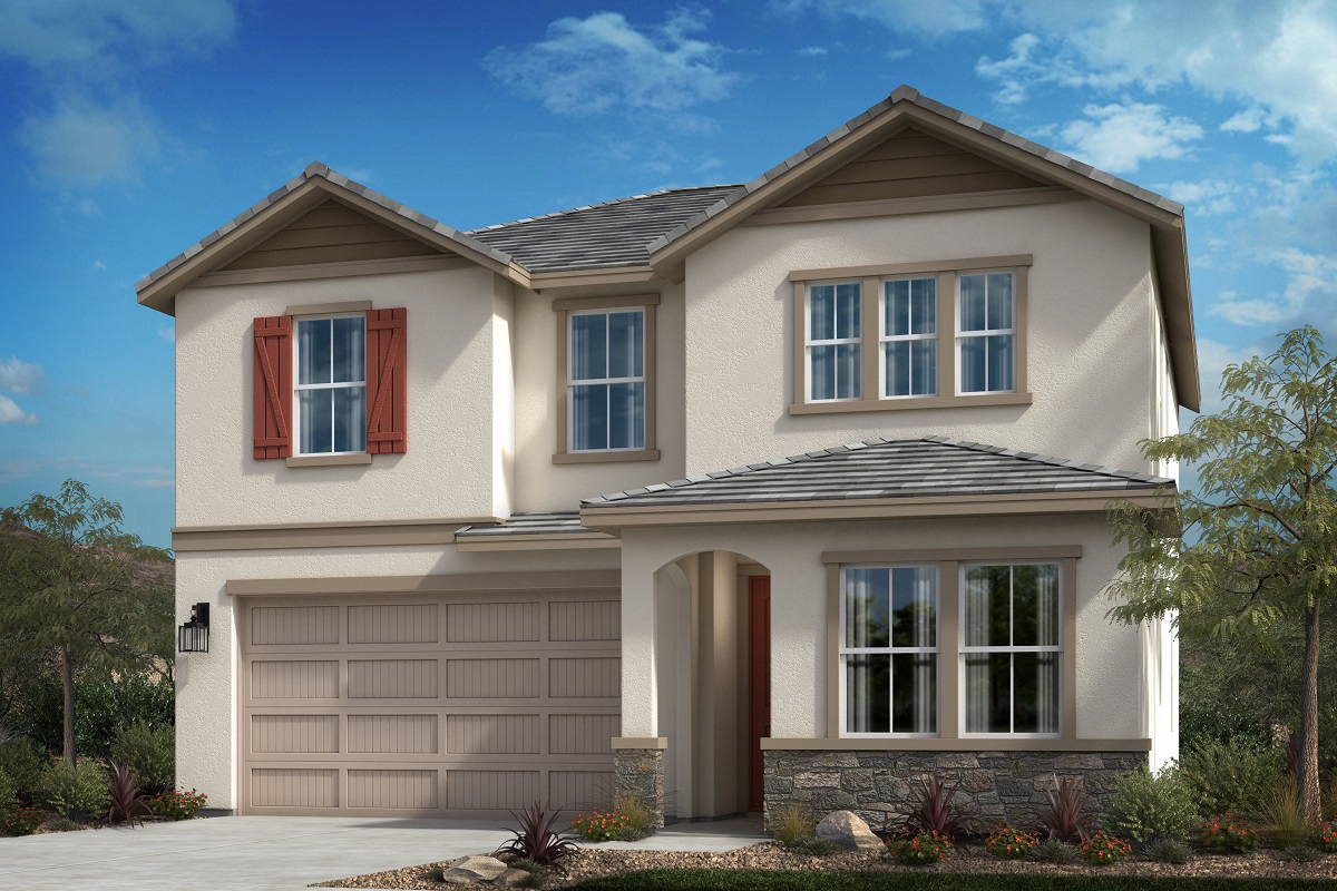 New Homes in Spring Valley, CA - Cottage 'B' Elevation
