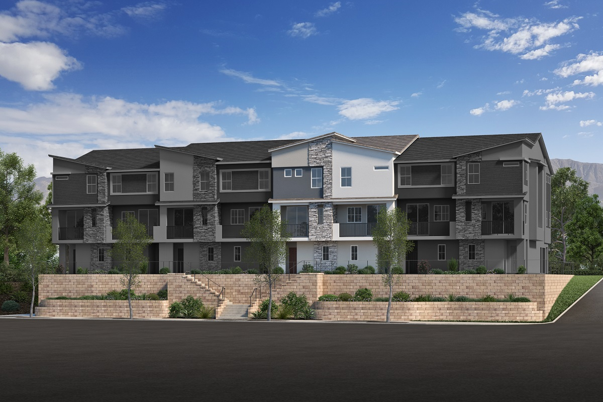 New Homes in San Marcos, CA - Viewpointe Plan 1551 Elevation A