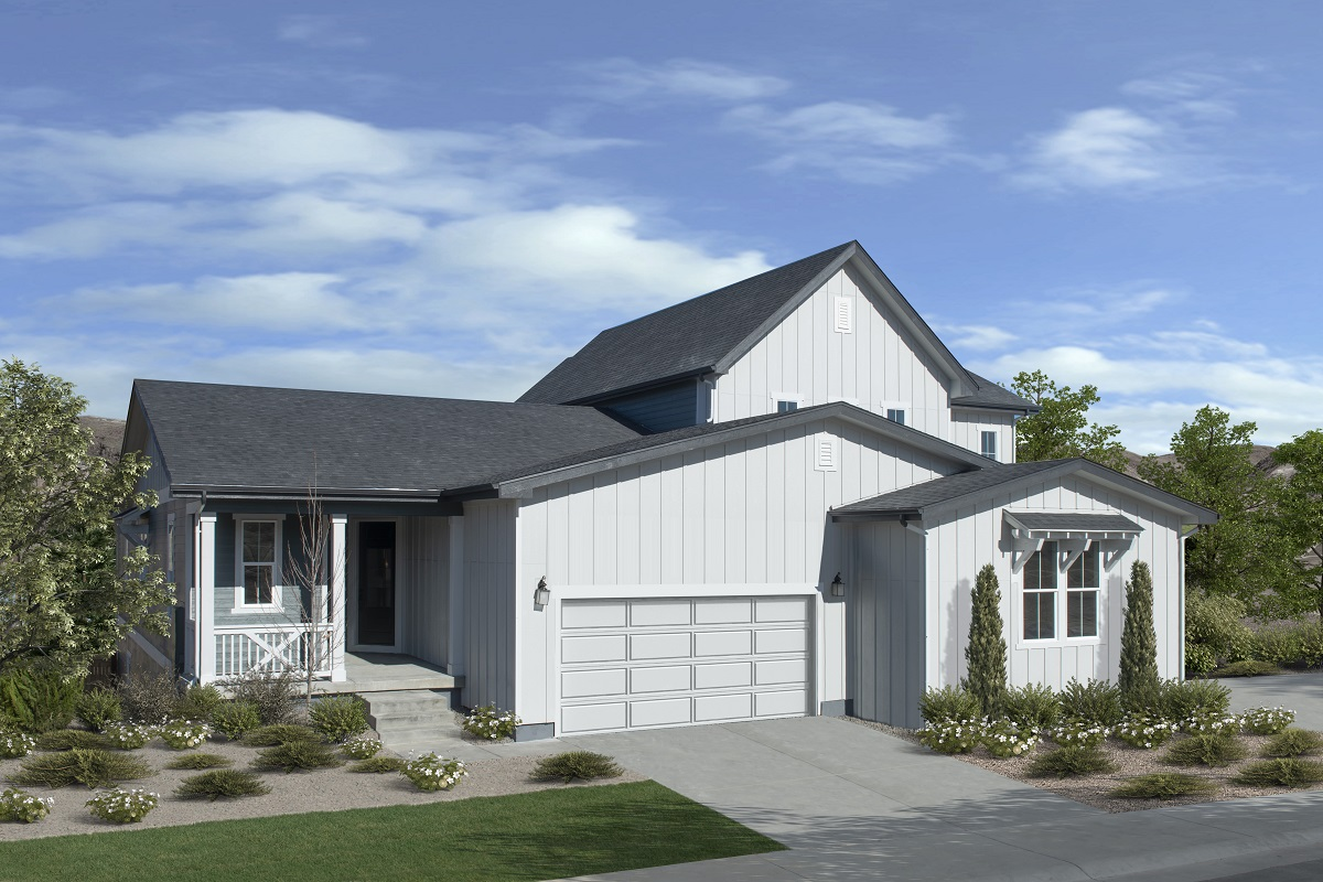 New Homes in Castle Rock, CO - Azure Villas at The Meadows Plan 1632 & Plan 2343