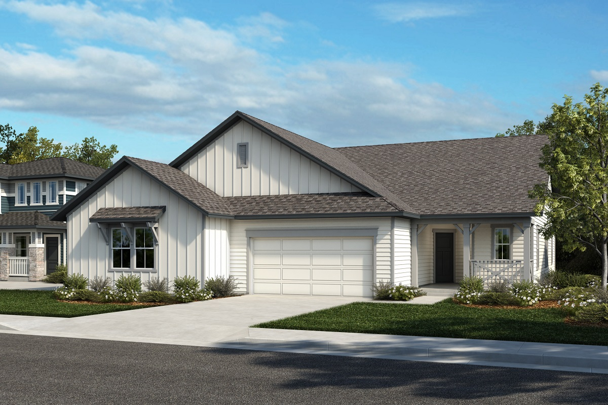 New Homes in Castle Rock, CO - Azure at The Meadows Villas Plan 1632