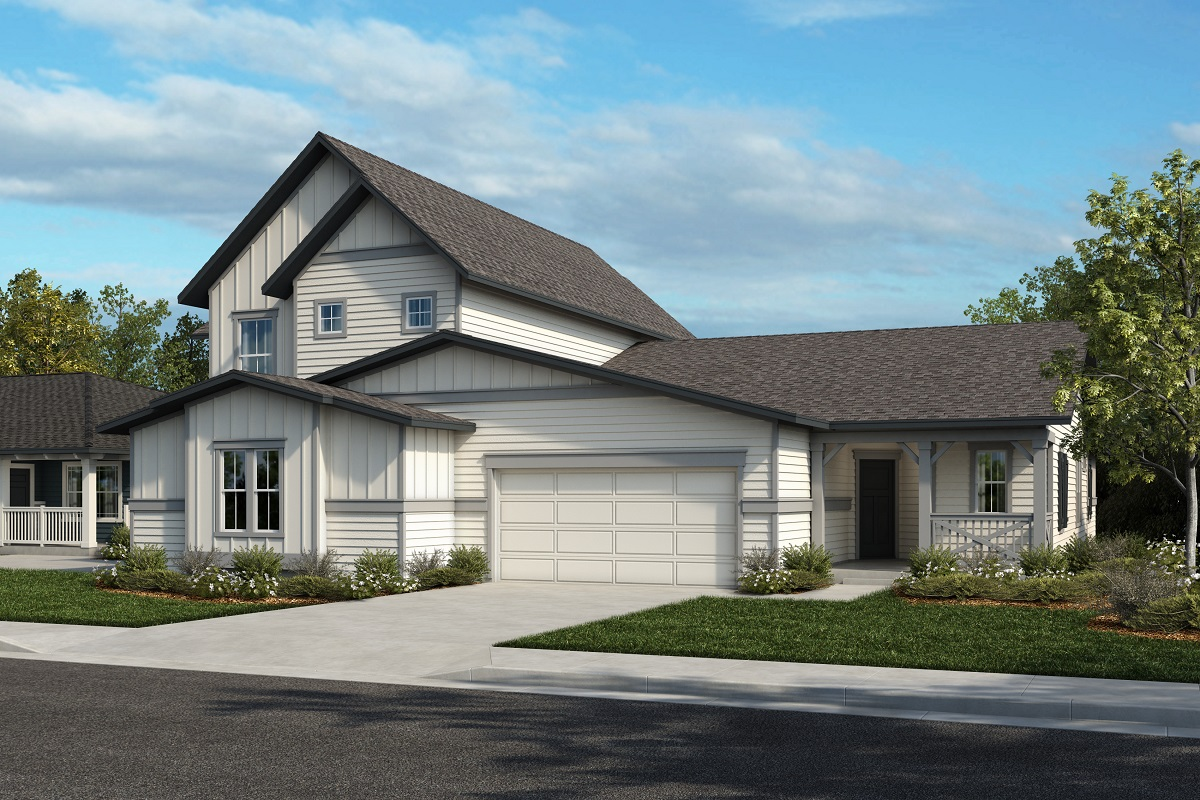 New Homes in Castle Rock, CO - Plan 2025 & Plan 1632 - Elevation 22A