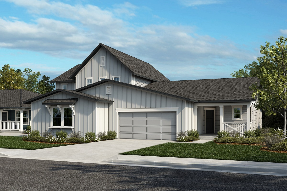 New Homes in Castle Rock, CO - Plan 2343 & Plan 1632 - Elevation 23A