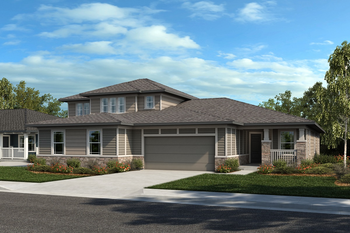 New Homes in Castle Rock, CO - Plan 2343 & Plan 1632 - Elevation 23C