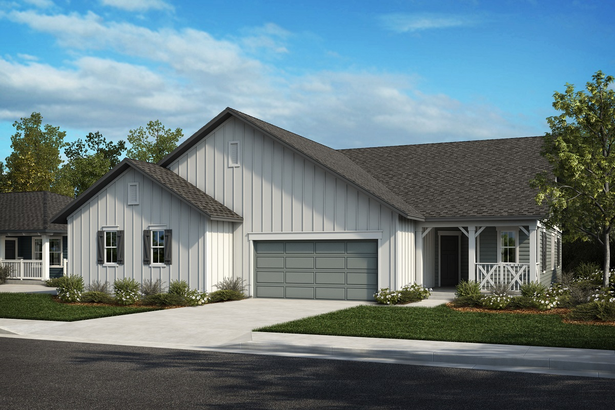 New Homes in Castle Rock, CO - Plan 1774 & Plan 1632 - Elevation 5A