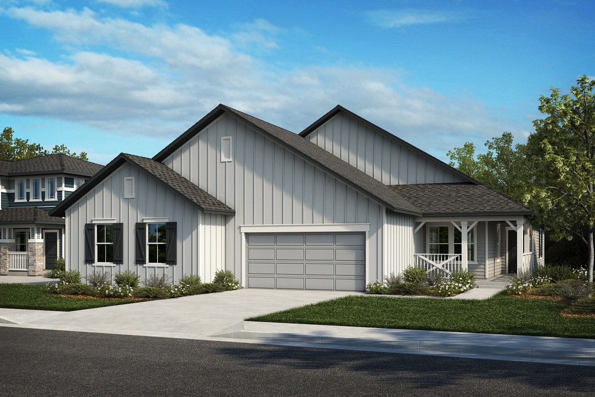 New Homes in Castle Rock, CO - Plan 1774 & Plan 1652 - Elevation 18A