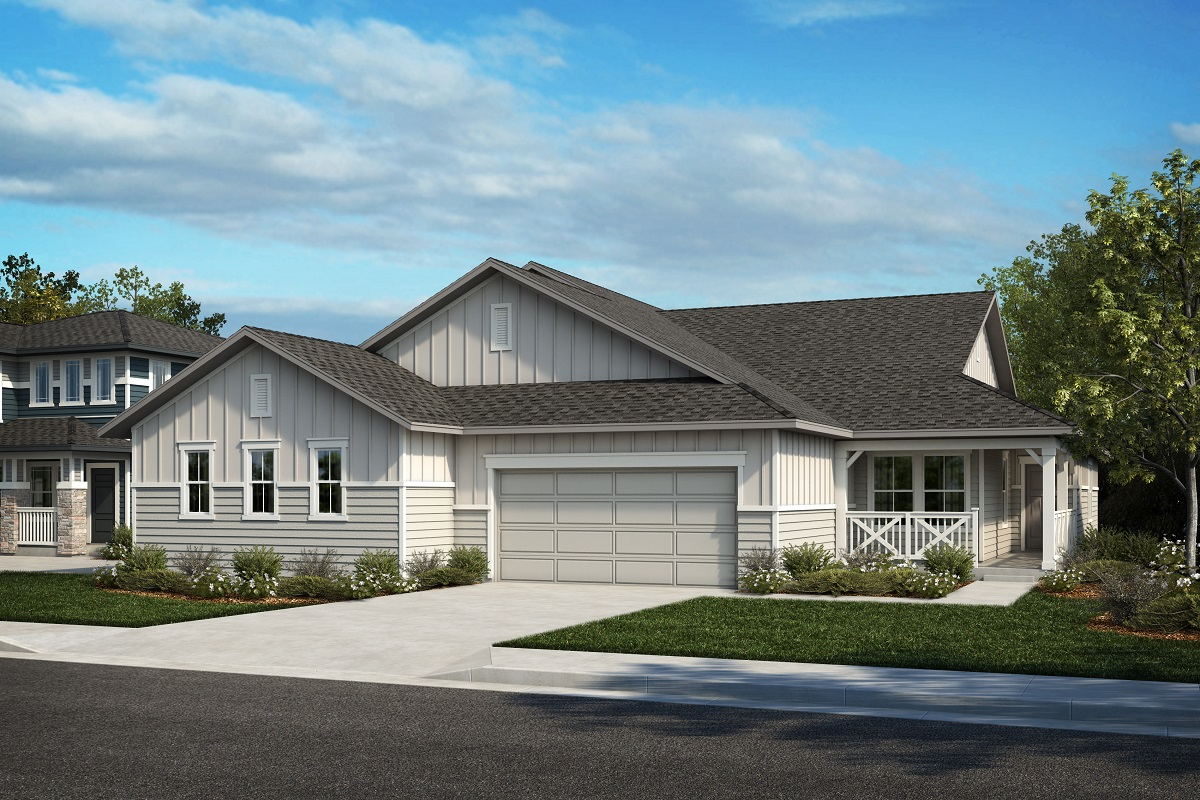 New Homes in Castle Rock, CO - Plan 1738 & Plan 1652 - Elevation 19A